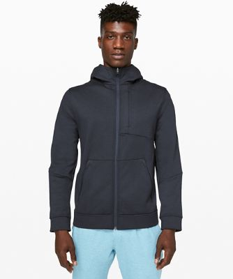 [30% OFF] 시티 스웨트 집 후디 *Thermo, HEATHERED NAUTICAL NAVY