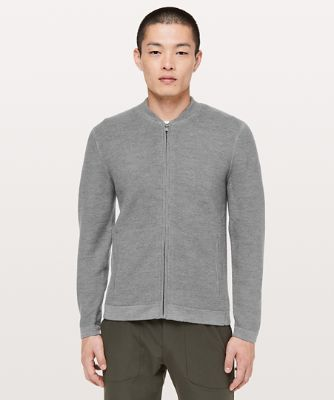 알파인 에어 봄버, HEATHERED CORE MEDIUM GREY
