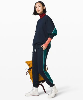 [Roksanda x lululemon] 페이스 포워드 조거, TRUE NAVY-EMERALD-ARCTIC TEAL